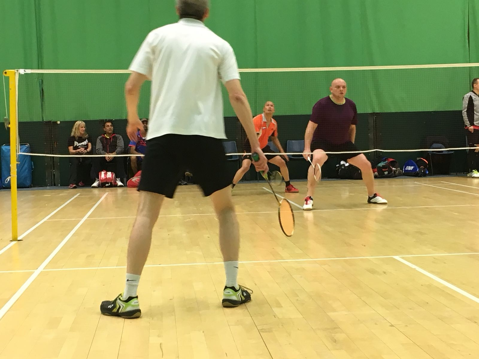 All England Seniors 2018