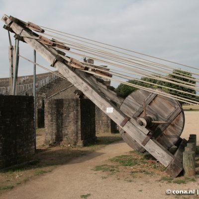 Archeologisch Park Xanten - De bouwkraan